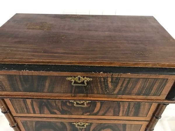 Tall Antique Chest of Drawers - b109